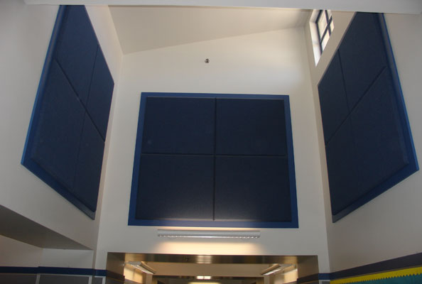 fabric wrapped acoustical wall panels - Fabric Wall Panels